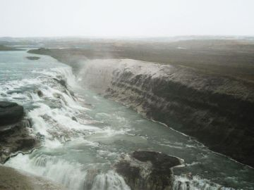 One day I just randomly visited Gullfoss...it was icy-magnificent<3